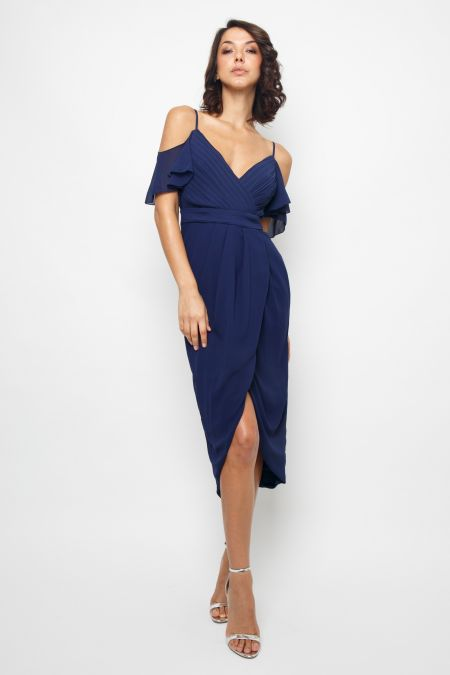 TFNC Betty Navy Midi Dress