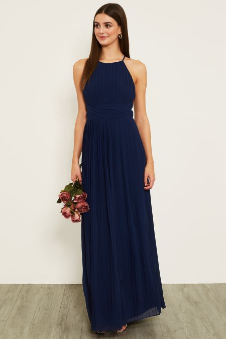 TFNC Polina Navy Maxi Dress